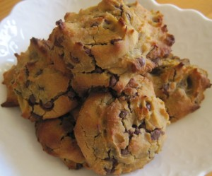 Healthy Chocoloate Chip Cookies