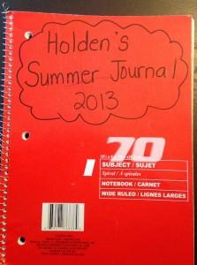 Holden's Summer Journal