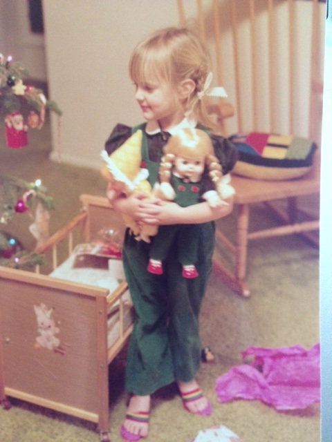 Sarah with Matching Doll